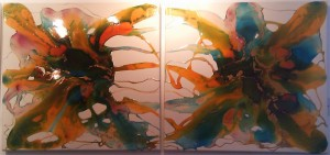 Indian Summer I & II - Philippe (from the ArtAtFive Gallery, Brighton)