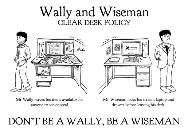 Wally and Wiseman